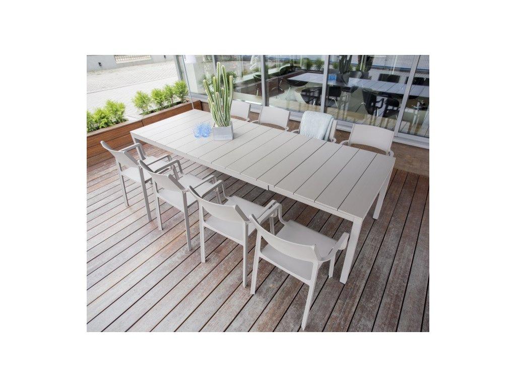 Rozkladací stôl Rio Alu 210