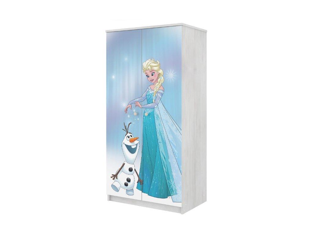 Skriňa Frozen, 2D