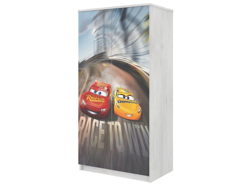 Skriňa Cars 3, 2D