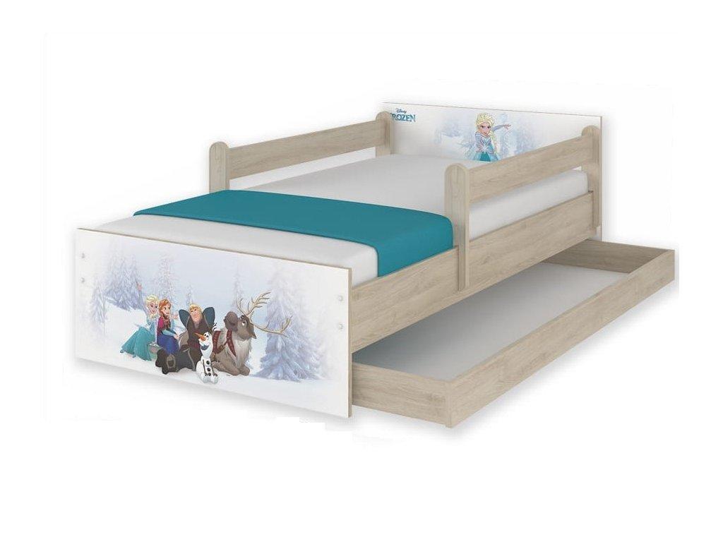 Detská posteľ Frozen - dub