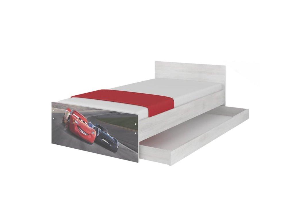 Detská posteľ Cars 3- nórska borovica