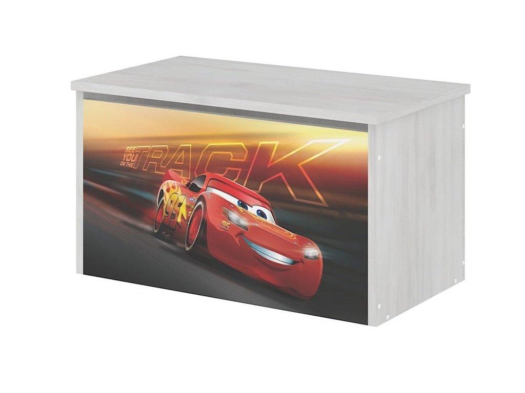 Box na hračky Cars 3
