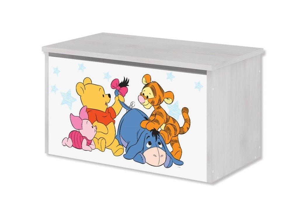 Box na hračky Macko Poo