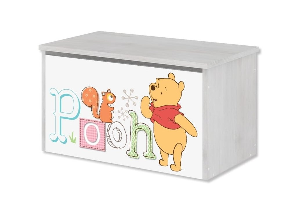 Box na hračky Macko Poo II