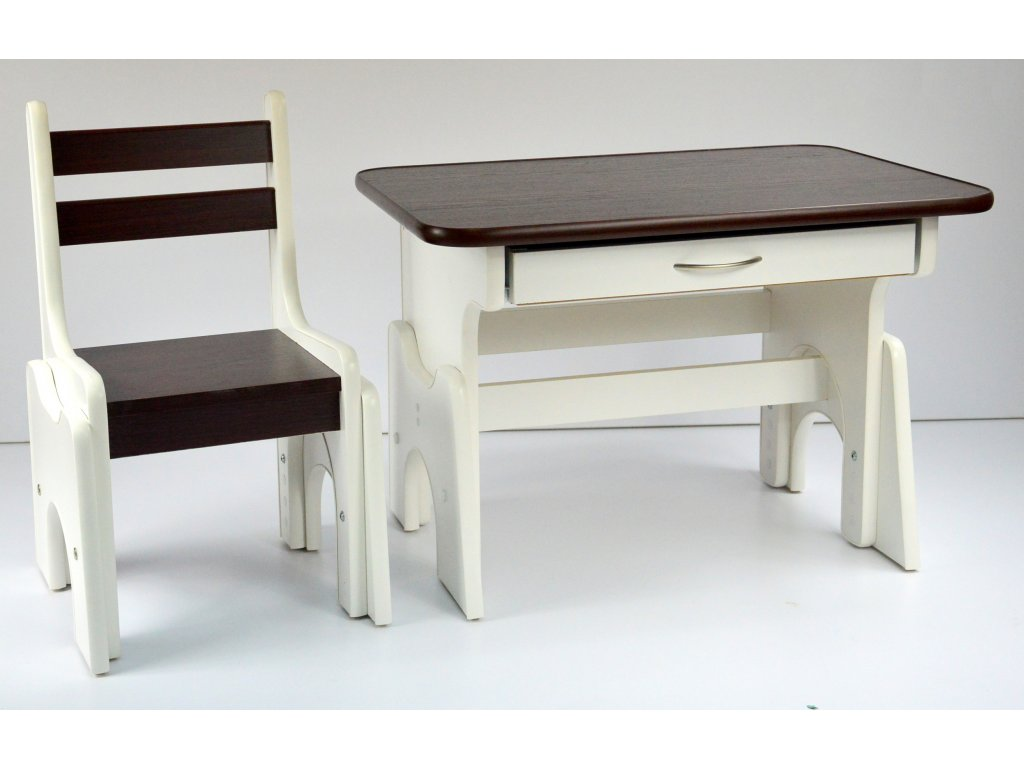 Detský stolík B1 - nastaviteľný
