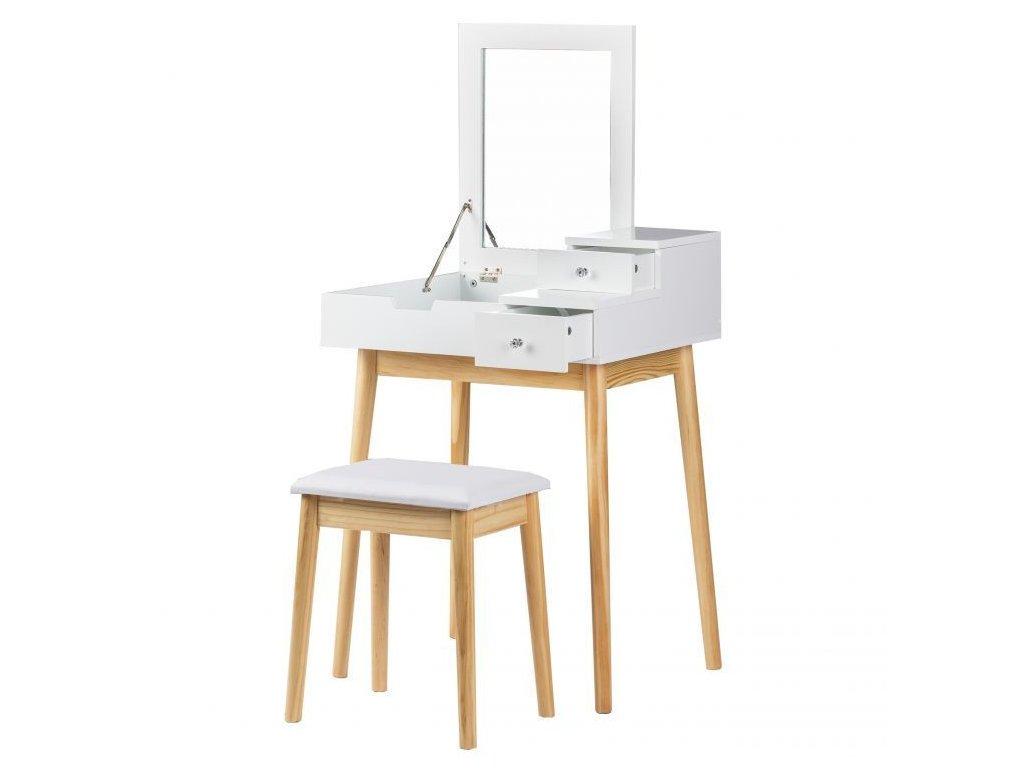 Toaletný stolík s taburetkou GoodHome