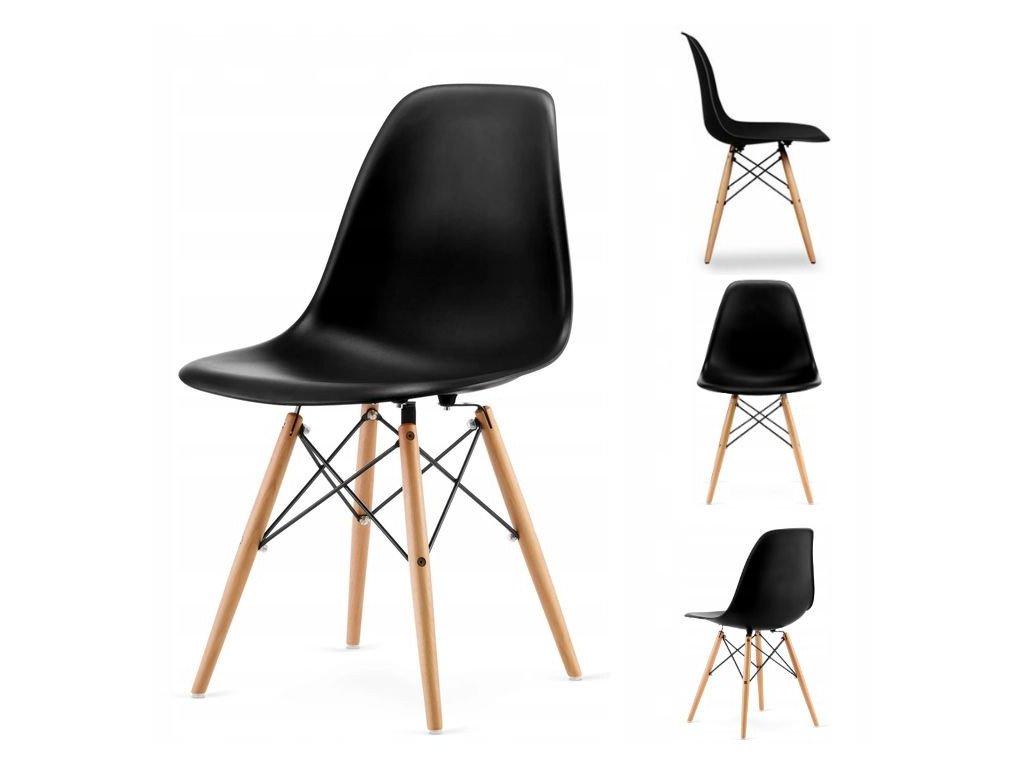 Set stoličiek 4 ks ITALIANO čierne