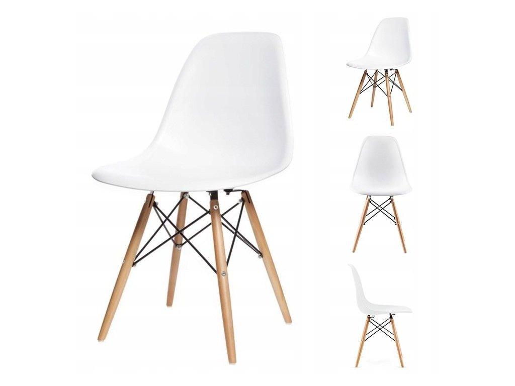Set stoličiek 4 ks ITALIANO biele