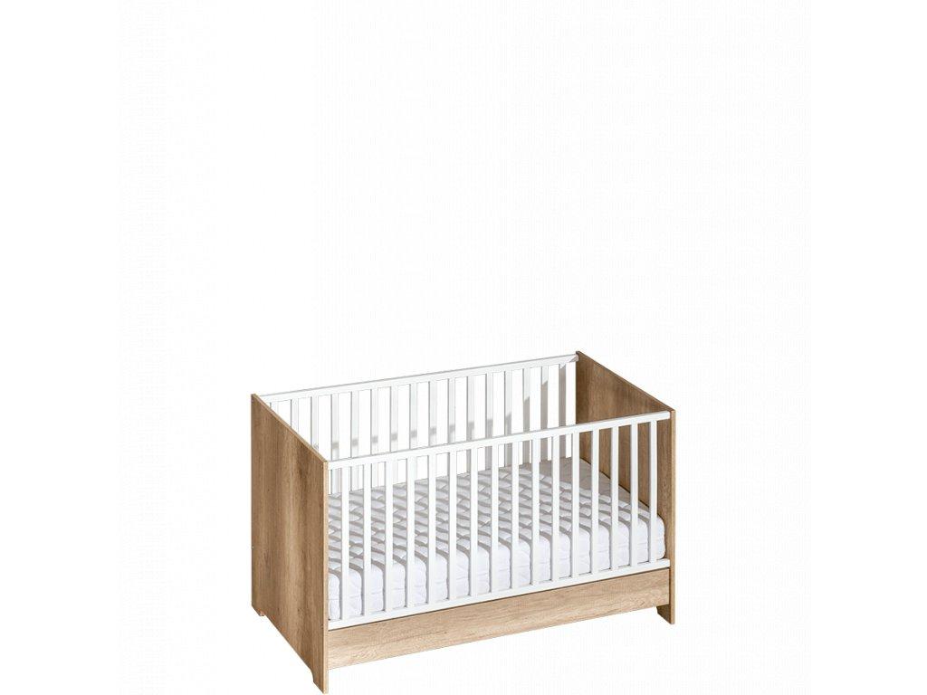 Detská postieľka / posteľ 140x70 Terra 2