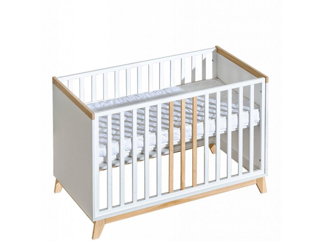 Detská postieľka / posteľ Nordik 120x60