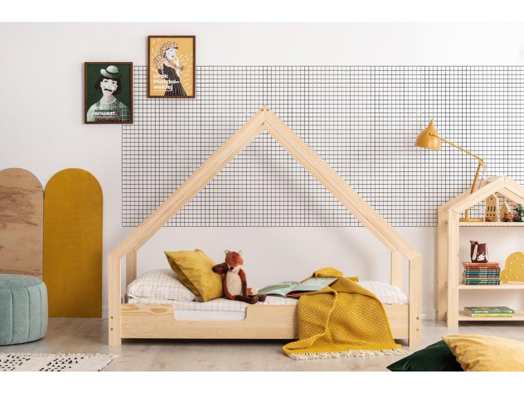Detská domčeková posteľ LOCA C