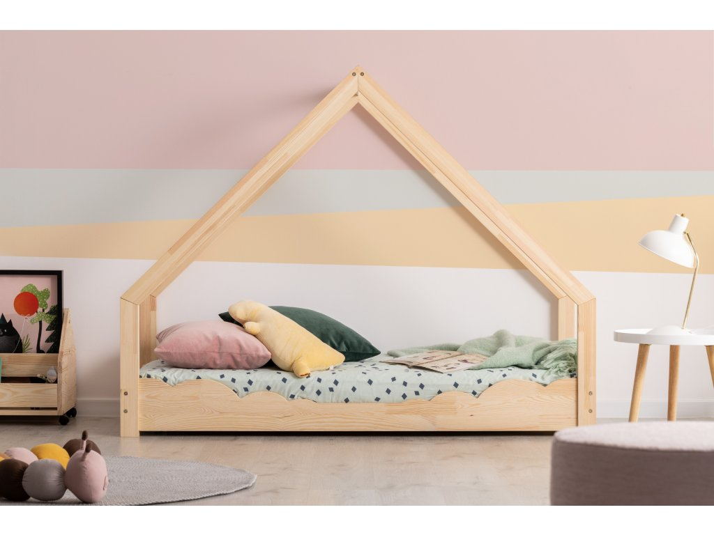 Detská domčeková posteľ LOCA D