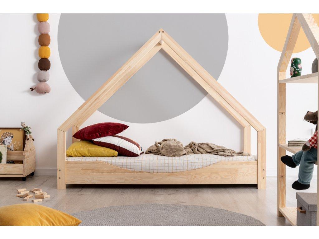 Detská domčeková posteľ LOCA E