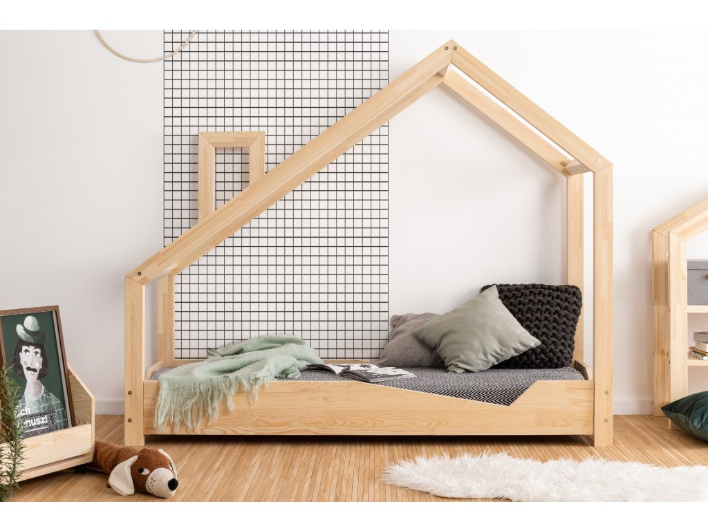 Detská domčeková posteľ LUNA A
