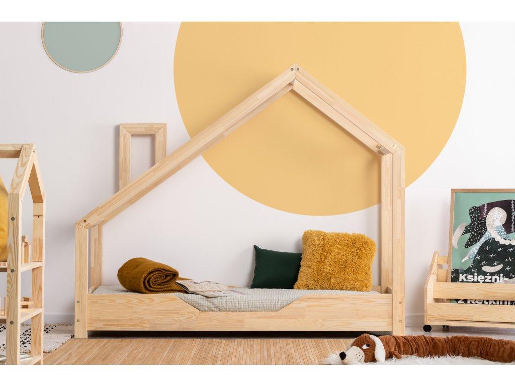 Detská domčeková posteľ LUNA B