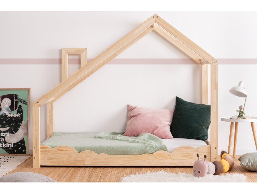Detská domčeková posteľ LUNA D