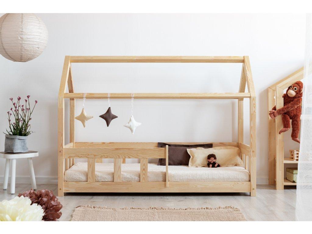 Detská domčeková posteľ MILA MBP