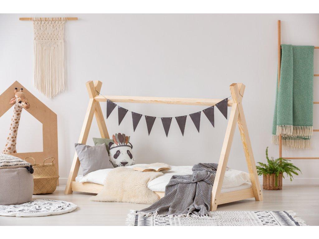 Detská domčeková posteľ MILA TP