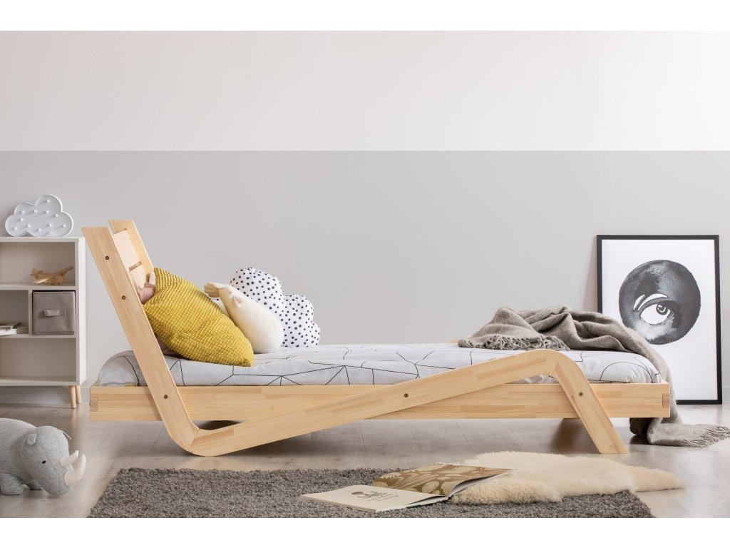 Dizajnová posteľ ZIGZAG