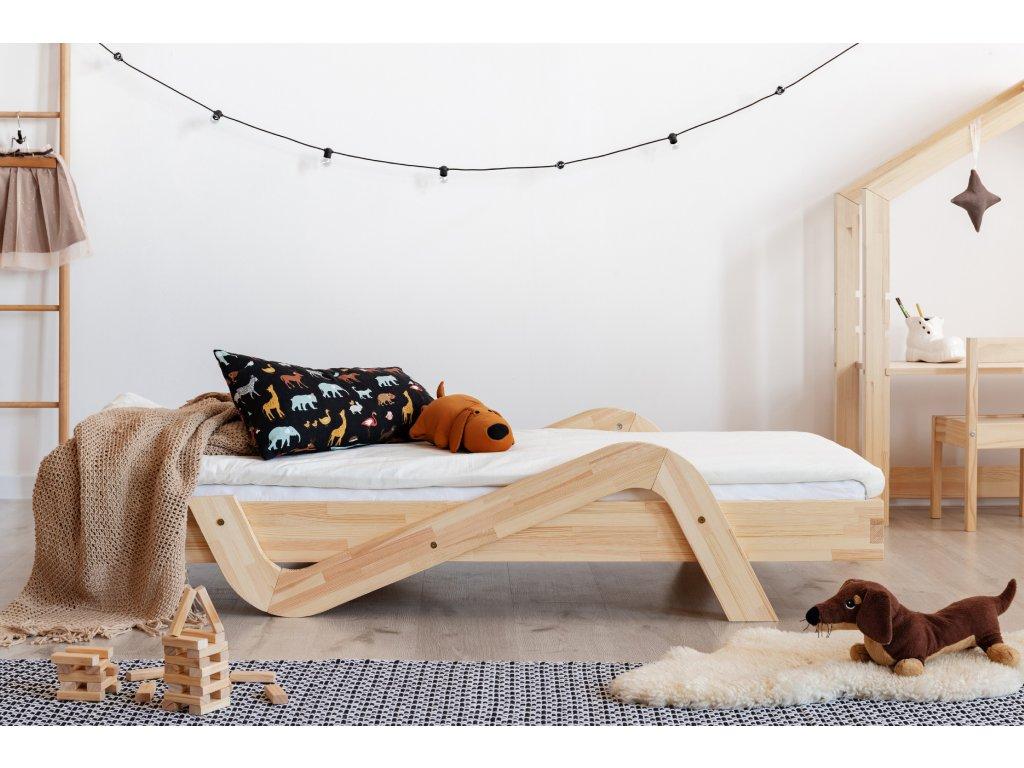 Dizajnová posteľ ZIG