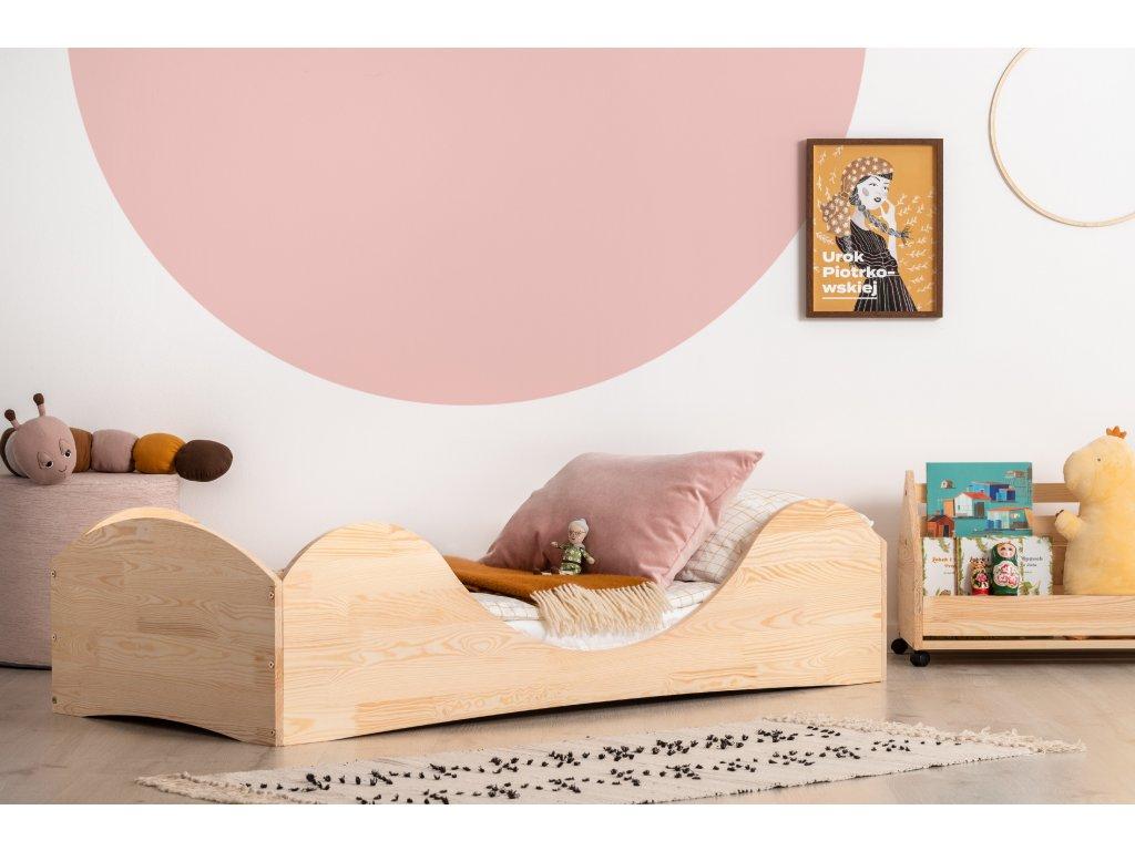 Dizajnová posteľ PEPE 1