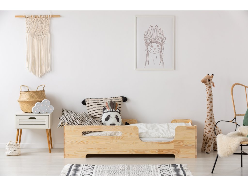 Dizajnová posteľ BOX 2