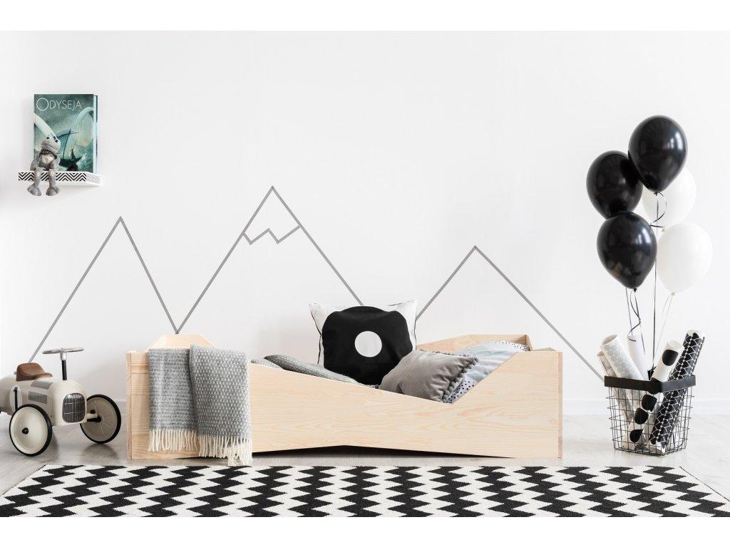 Dizajnová posteľ BOX 5