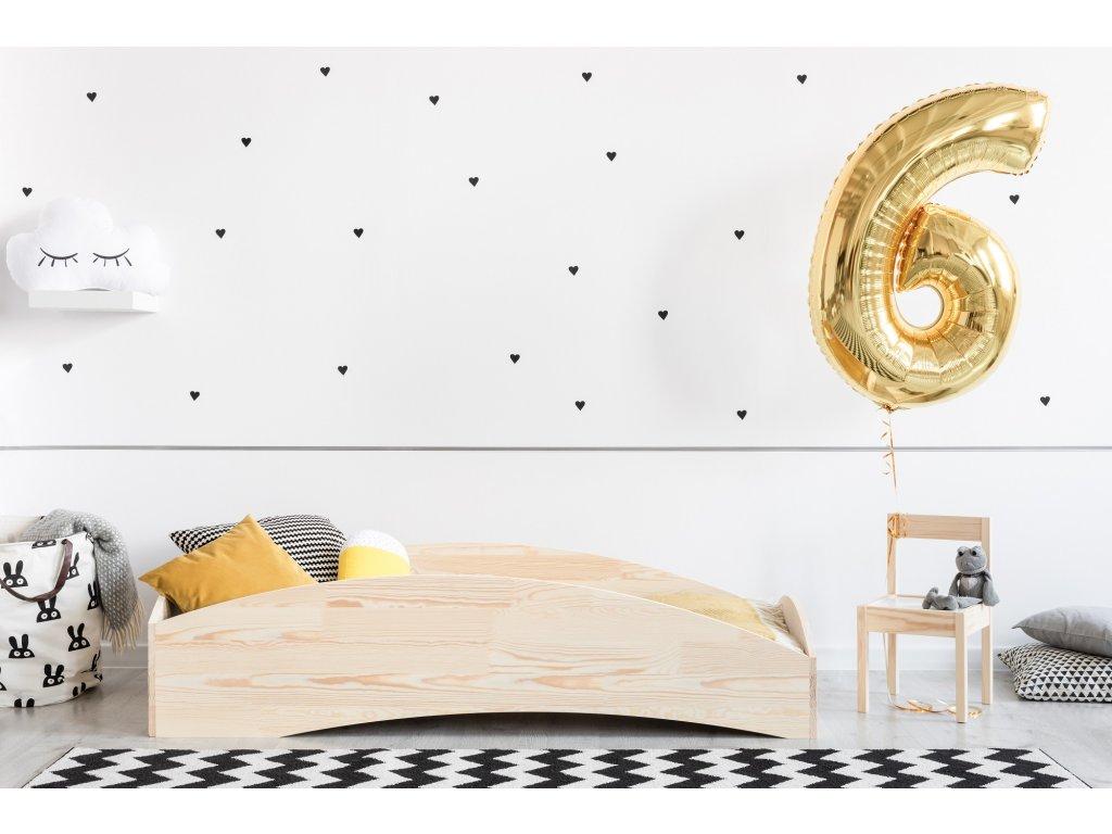 Dizajnová posteľ BOX 6