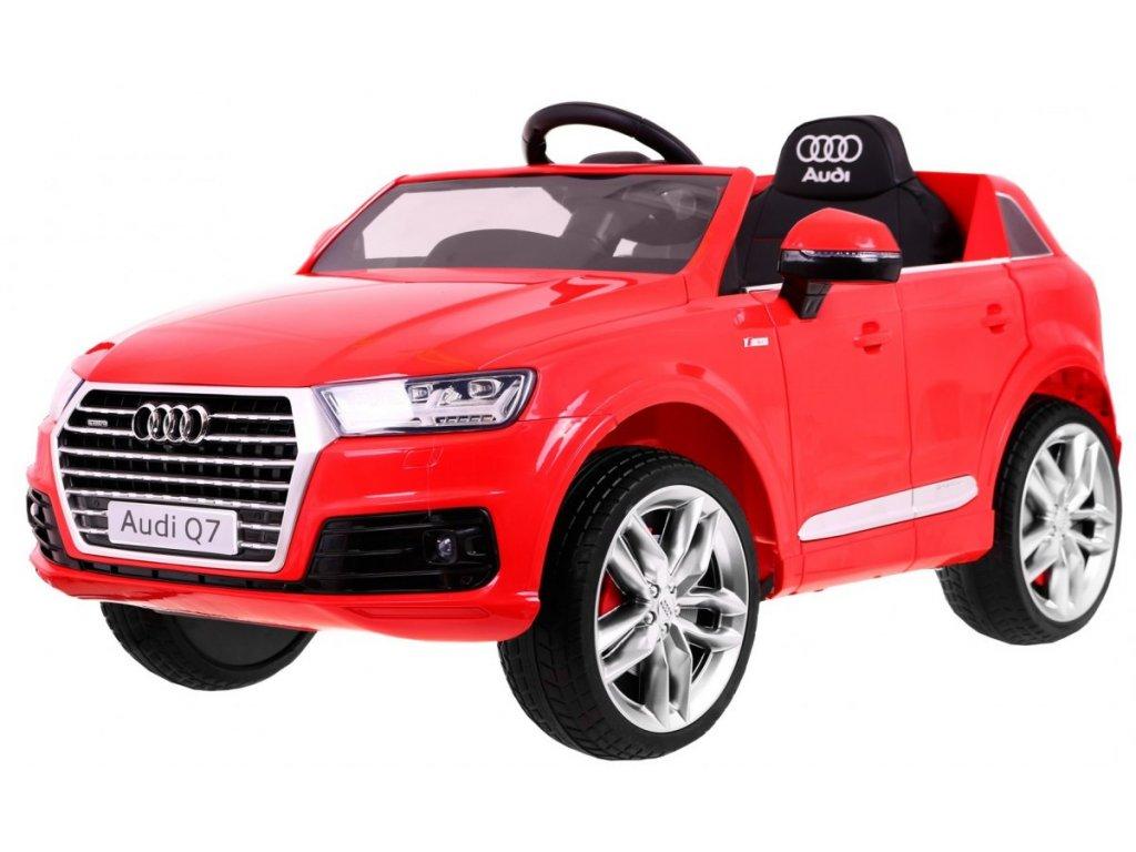 Elektrické autíčko Audi Q7 2.4 G Červená