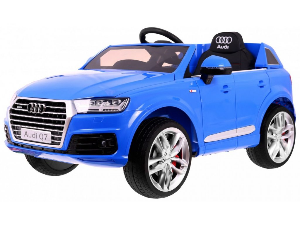 Elektrické autíčko Audi Q7 2.4 G Modrá