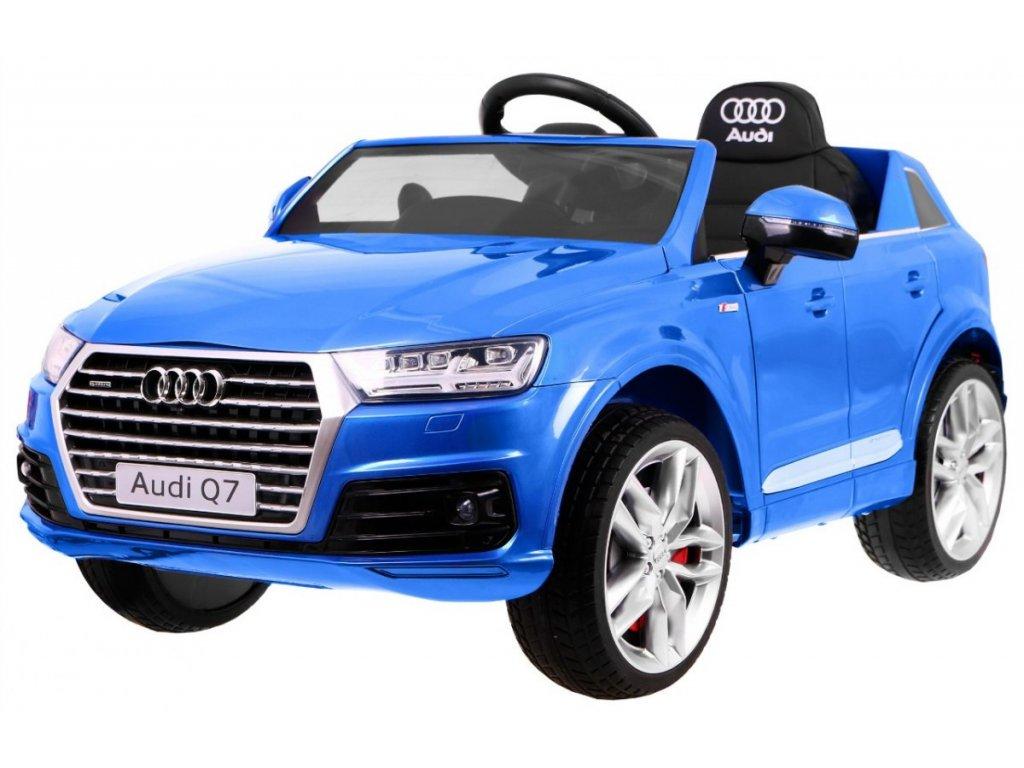 Elektrické autíčko Audi Q7 2.4 G Lakované modré