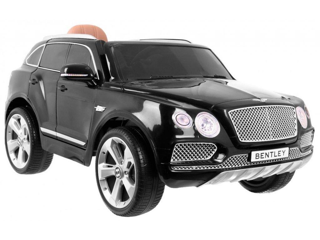 Elektrické autíčko Benley Bentayga Čierne