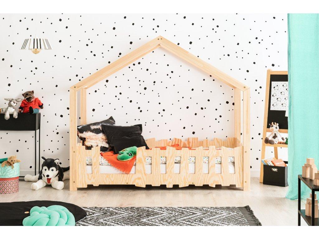 Detská domčeková posteľ SELO B