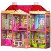 Domček pre bábiky Vila + nábytok