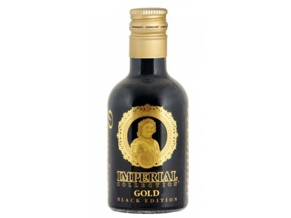 Vodka Imperial Collection GOLD BLACK EDITION 40% obj. 0,05l