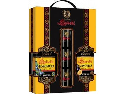 Originál Spišská borovička +hruškovica