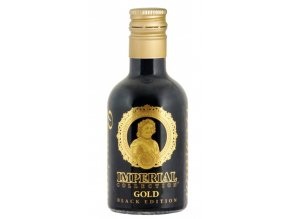 Vodka Imperial Collection GOLD BLACK EDITION 40% obj. 0,05l