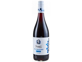 sparkling vino z ciernych ribezli