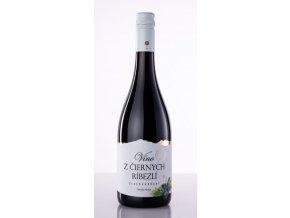 vino z ciernych ribezli Miluron