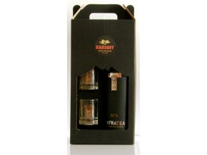 Tatratea 52% gift box + shots