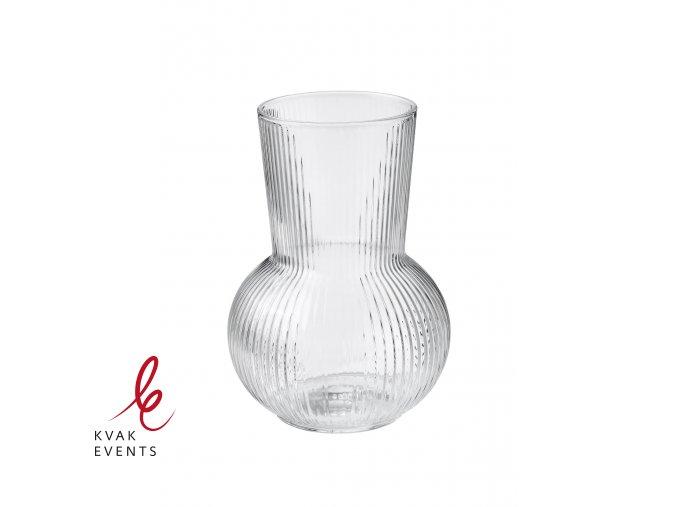 Skleněná váza čirá - ZAPŮJČENÍ
