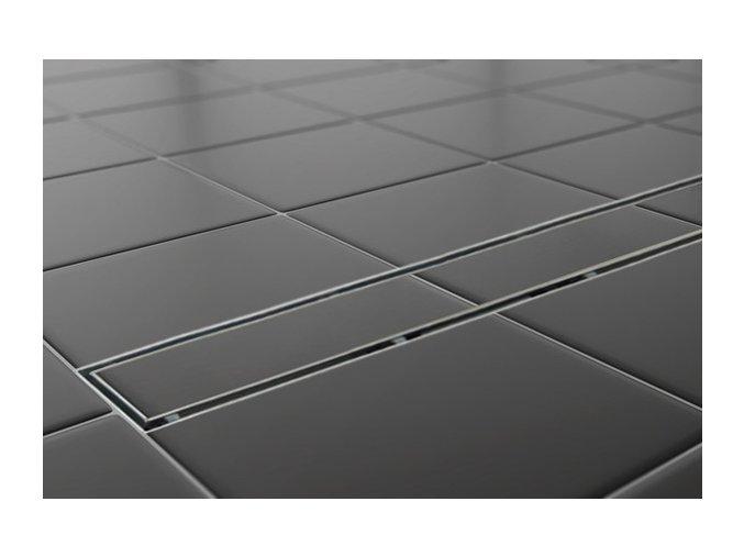 Sprchový podlahový žľab 110 cm - na dlažbu