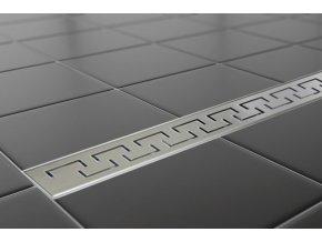Sprchový podlahový žľab 110 cm - greek