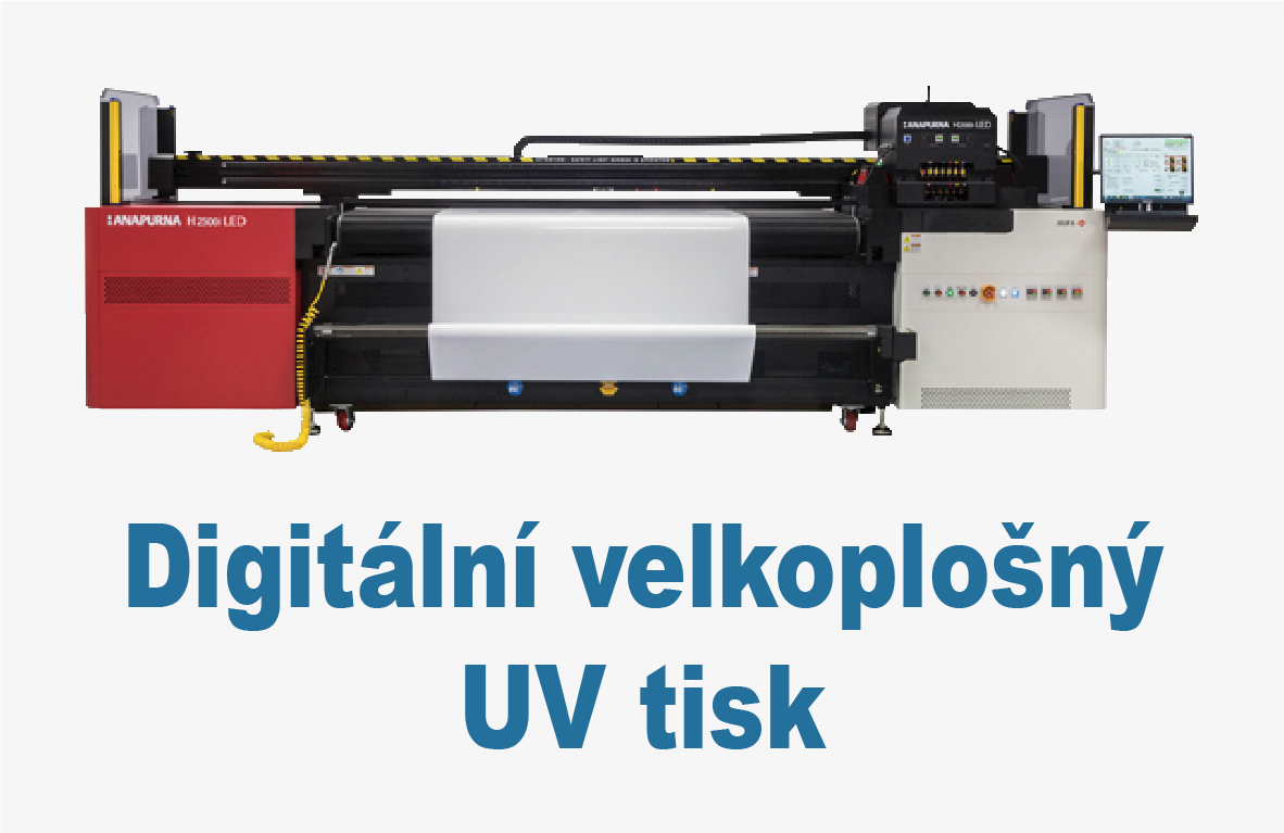 Digitální velkoplošný UV tisk