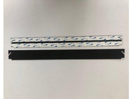 Vrchní plastová lišta 67, 70 nebo 75cm