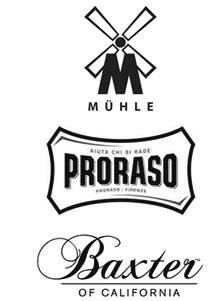 Logo Mühle, Proraso a Baxter