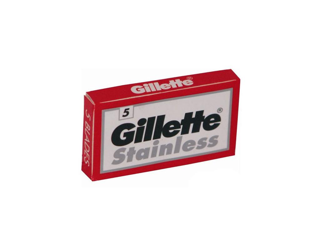 Žiletky Gillette Stainless 5 ks