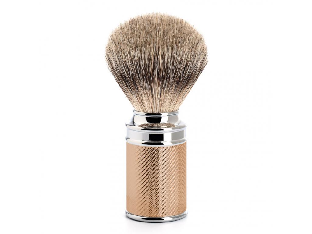 Štětka na holení Mühle TRADITIONAL Rosegold, Silvertip badger