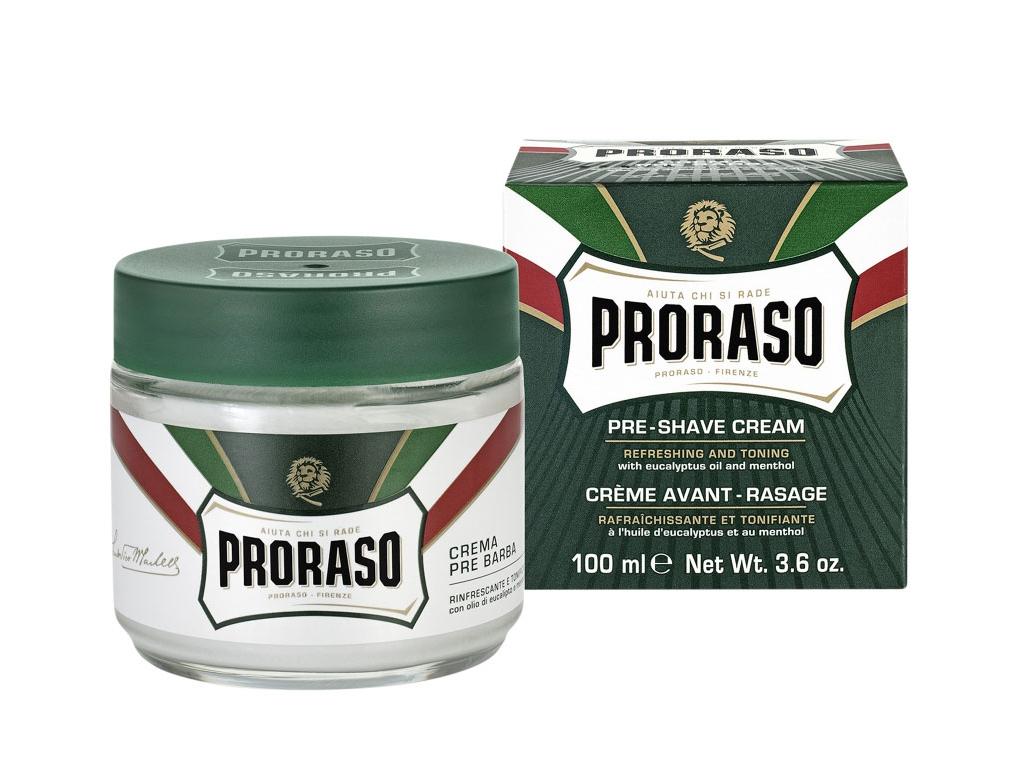 Krém před i po holení Proraso Classic, eukalypt a mentol