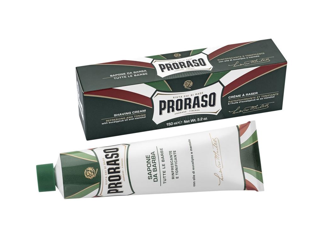 Krém na holení Proraso Classic, eukalypt a mentol v tubě
